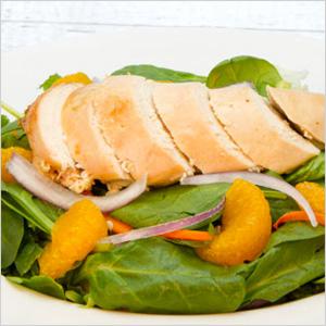Spinach Chicken Salad at Swiss Chalet