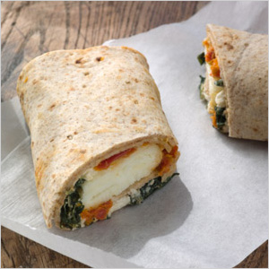 Spinach & Feta Wrap at Starbucks