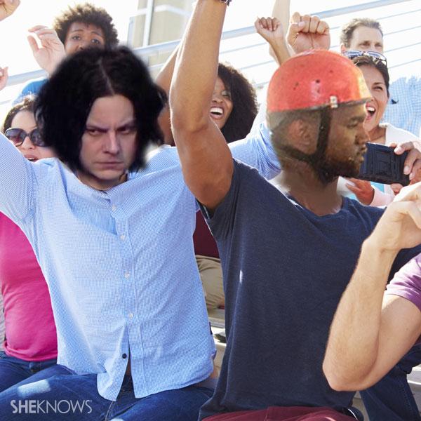 Jack White and Kanye West