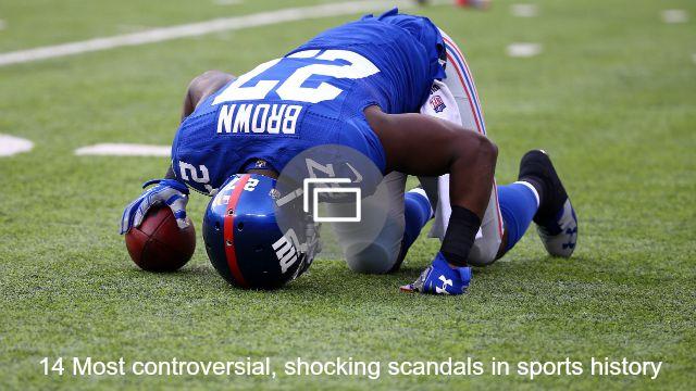 sports scandals slideshow
