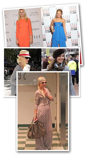 Fashion trends celebs