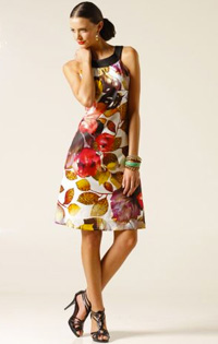 Sacha Drake floral shift dress ($239)