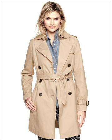 Trench Coat, GAP, $128