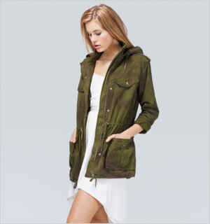 Talula Trooper Jacket, Aritzia, $120