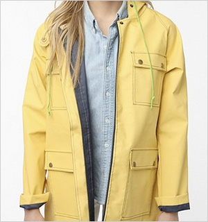 Lark & Wolff By Seven Alan Rain Jacket, Urban Outfitters, $69