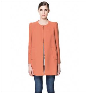 Coat, ZARA, $159