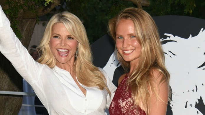 Are we done comparing Christie Brinkley