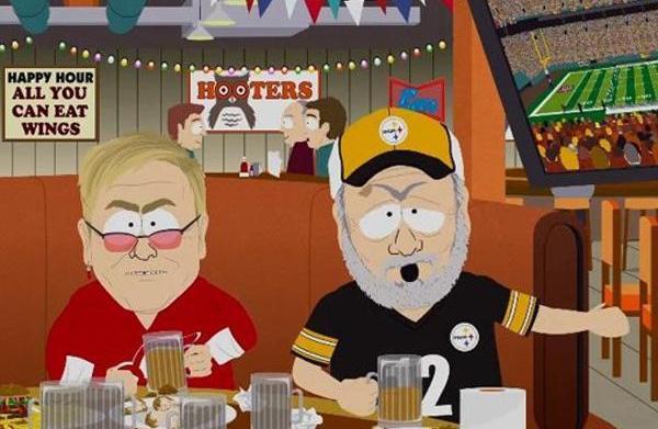 Stephen Soundheim's South Park bro-down