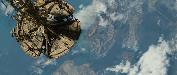 The platform for John Cho's biggest Star Trek scene