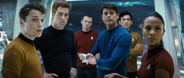 The Star Trek cast, circa 2009