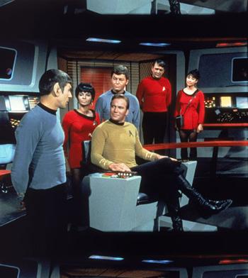 The original 1966 Star Trek cast