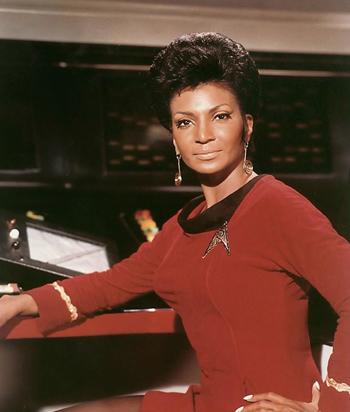 Uhuru on the original Star Trek