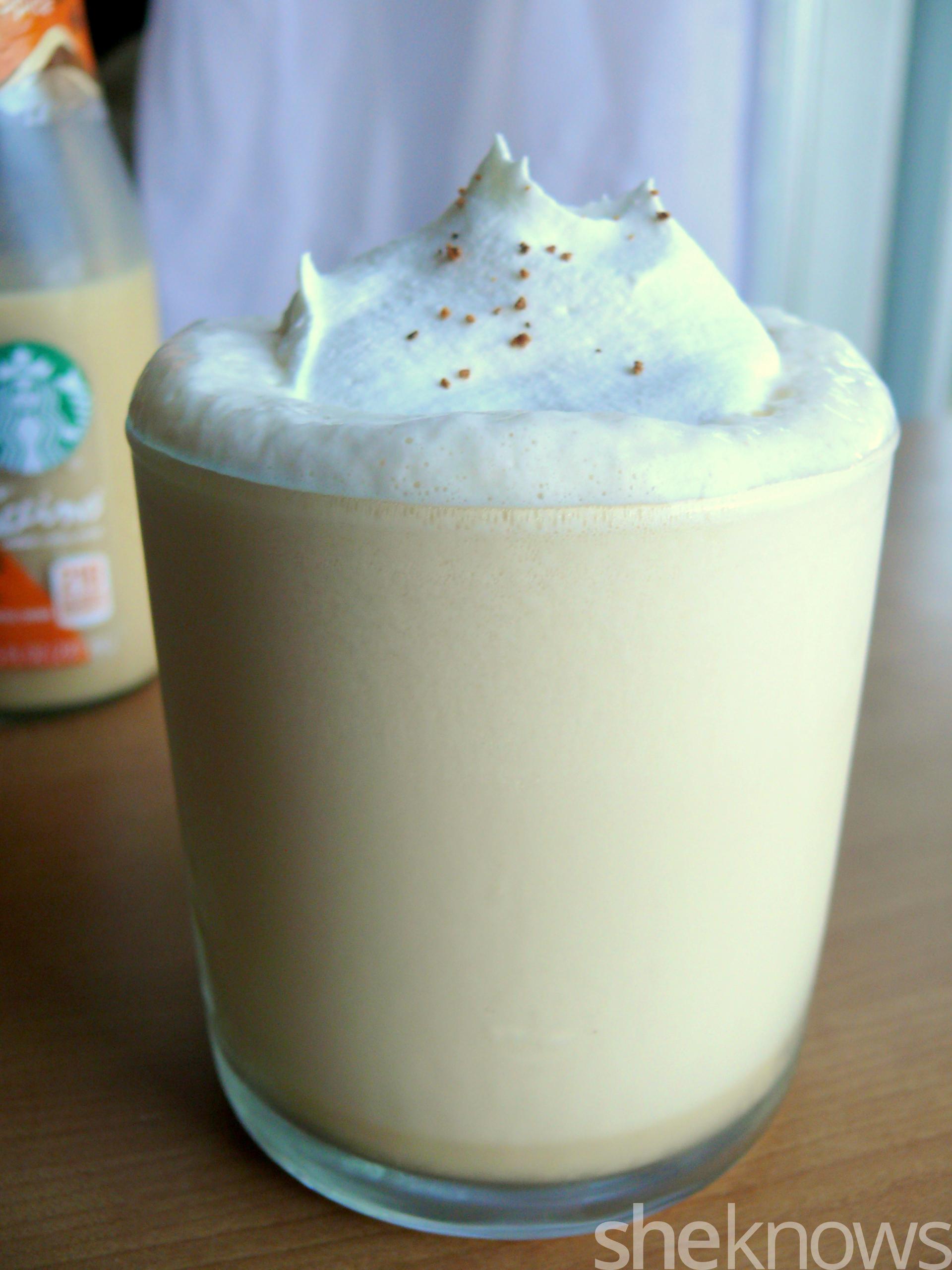 Starbucks bottled blended pumpkin spice frappuccino