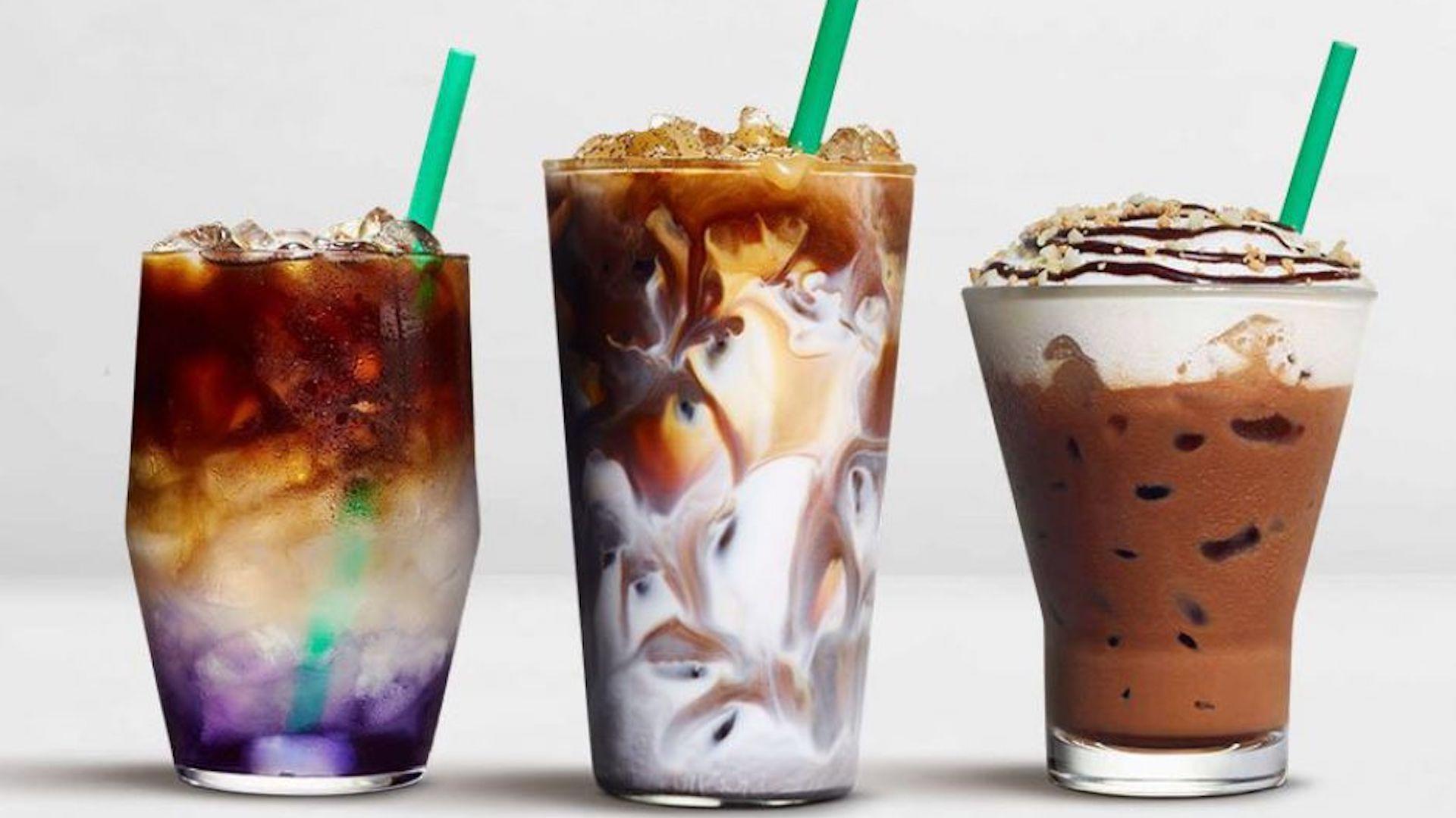 Starbucks Spring new drinks