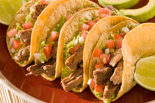 juicy steak tacos