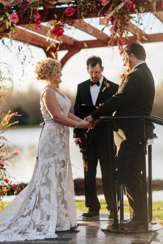 Wedding photo with paralyzed groom