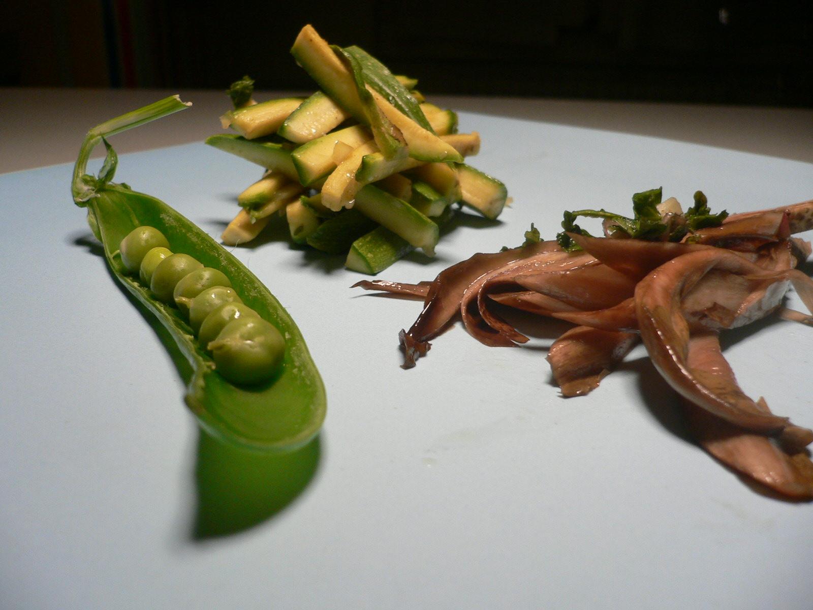 steamed veggies in the dishwasher