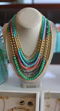 Stella & Dot Amalfi Collection: Zahara bib necklace
