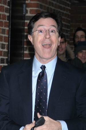 Stephen Colbert rocks out to Daft Punk's