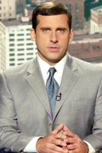 Steve Carell in Bruce Almighty
