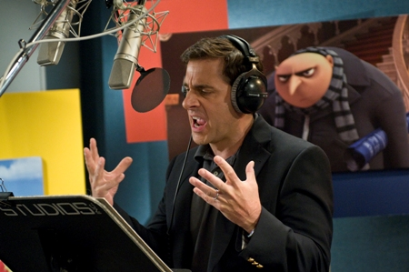 Steve Carell is Dru in Despicable Me, in theaters July 9