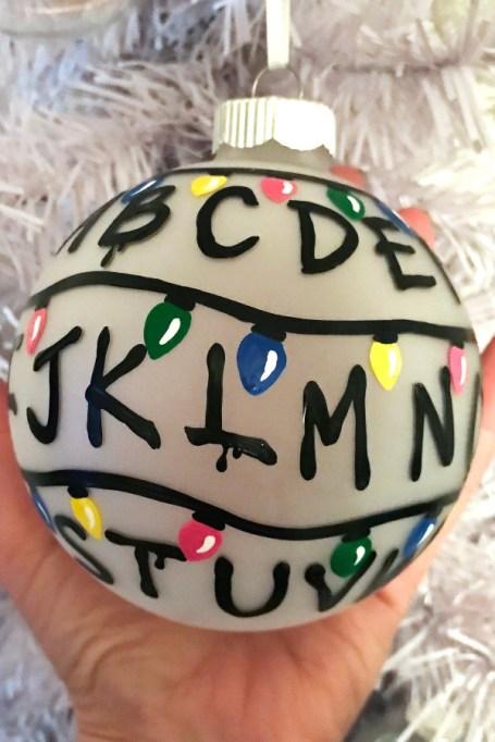 'Stranger Things' ornament.