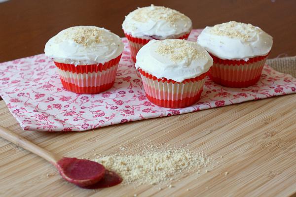 Strawberry cheesecake cupcake recipe