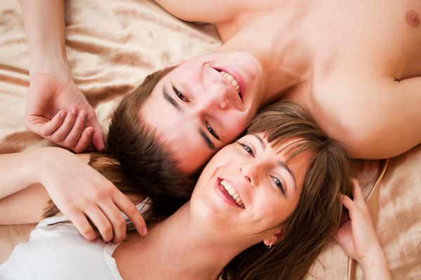Stress-free sex