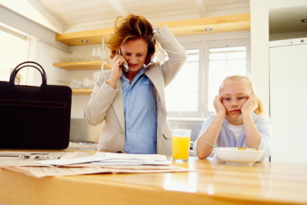 Stressed working mother | Sheknows.com