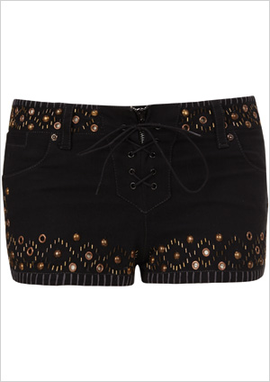Studded Denim Short ($100)