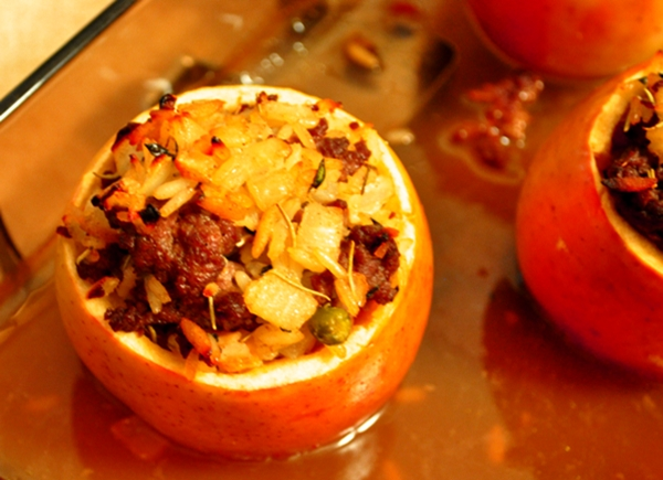 baked savory apple recipes