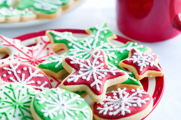 Sugar cookies for Christmas