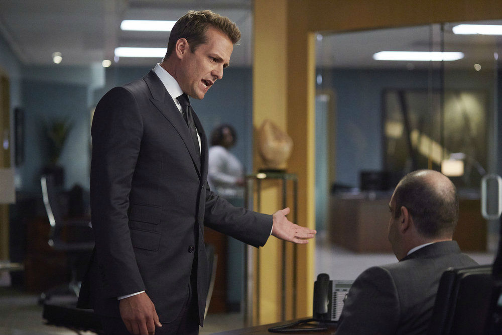 Suits, Harvey and Louis