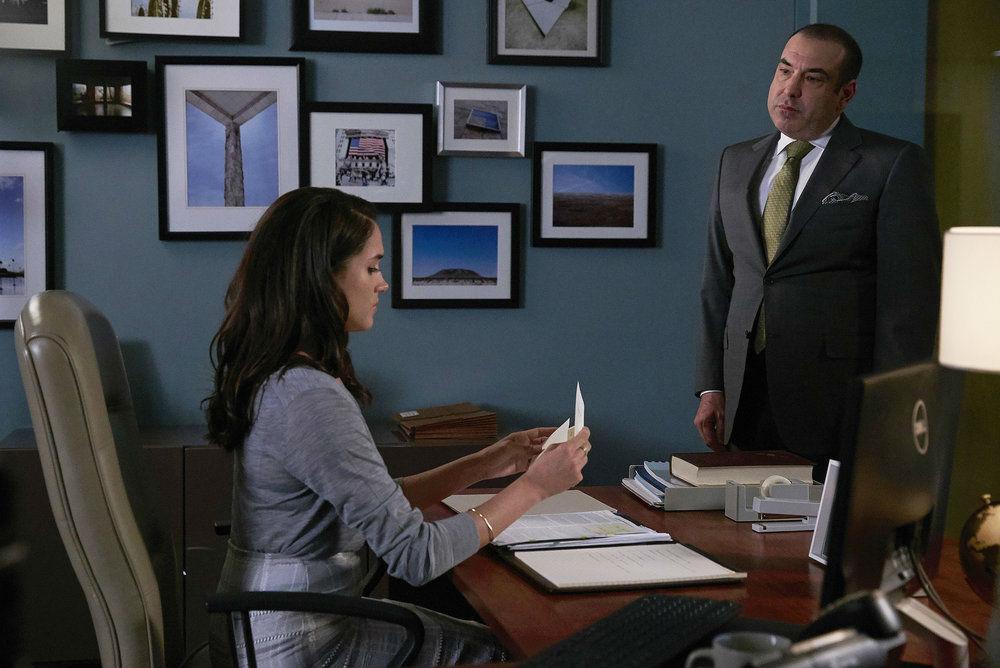 Suits, Rachel and Louis