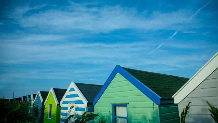 Beach huts, Southwold, Suffolk, UK