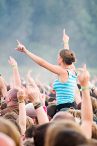 Get your groove on at a festival