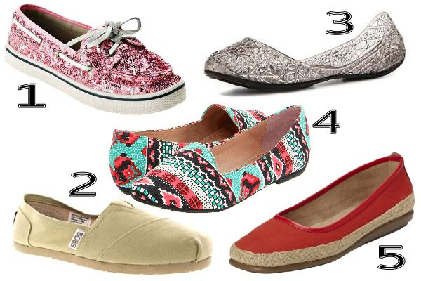 montage of summer flats