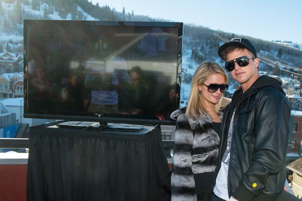 Paris Hilton at 2013 Sundance after party