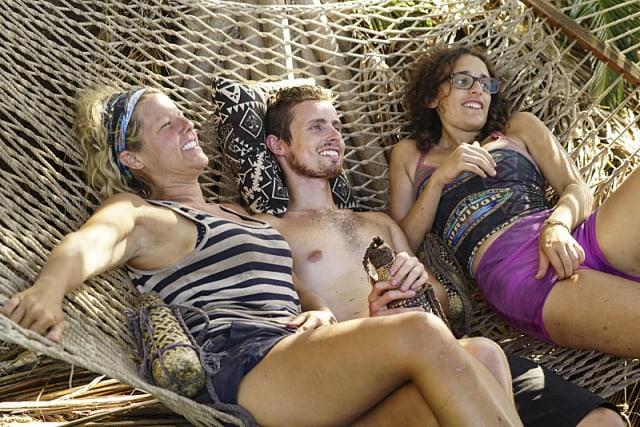 Sunday Burquest, Adam Klein and Hannah Shapiro on Survivor: Millennials Vs. Gen-X