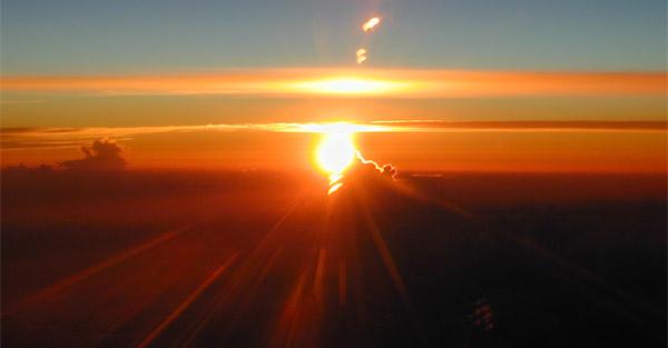 Sunset - Daylight savings