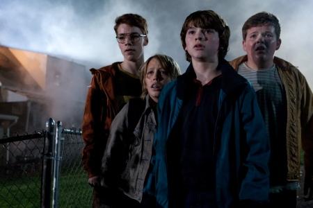 """Super 8 cast wonders """"what is it?"""""""