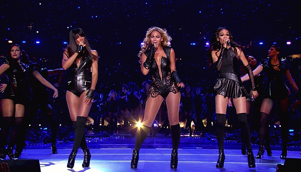 Beyonce and Destiny's Child at the Super Bowl