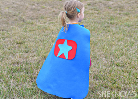Halloween costume accessories - Super hero cape