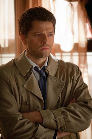 Misha Collins as Castiel in Supernatural