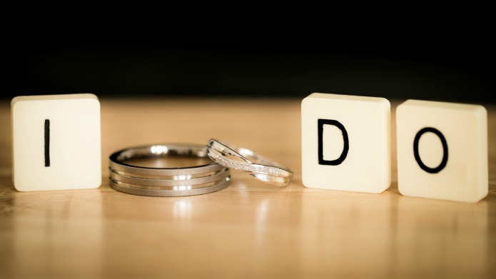 Newlyweds are 'meshing' their surnames and