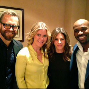 Alison Sweeney and The Biggest Loser trainers