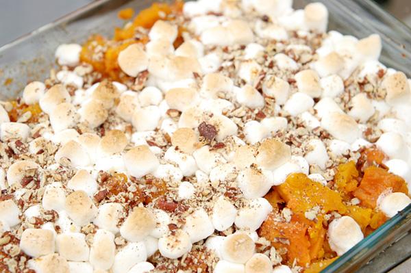 Candied sweet potato