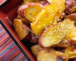 Three-step Thai sweet potato salad