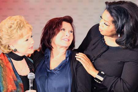 Debbie Reynolds reveals all to Oprah