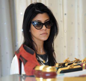 Is Kourtney Kardashian giving momager Kris